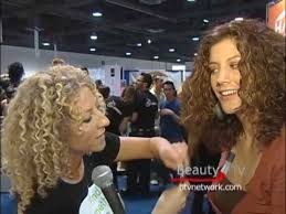 lorraine massey haircut how to cut curly hair with deva curl beauty tv youtube