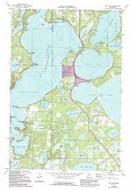 Map Mn Gull Lake Topographic Map Mn Usgs Topo Quad 46094d3