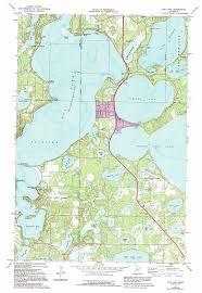 minnesota topographic map gull lake topographic map mn usgs topo 46094d3