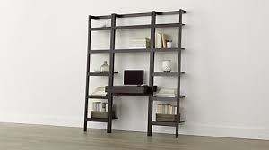 How To Make A Cheap Bookcase Stylish Sophisticated U0026 Modern Desks Crate And Barrel