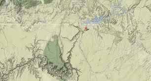 Grand Canyon Arizona Map by Map Grand Canyon Horseshoe Bend Page Arizona Paul Reiffer