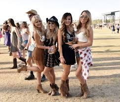 style of country music part 17 fans wearing western cowboy