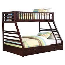 Jason Kids Bunk Bed EspressoTwinQueen Acme  Target - Espresso bunk bed