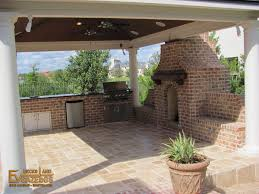 Kitchen With Fireplace Designs by Outdoor Kitchens U0026 Fireplaces Ev Decks U0026 Gazebos
