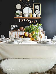 a simple casual thanksgiving table my fabuless
