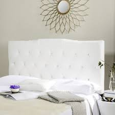 axel white tufted headboard headboards furniture by safavieh