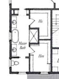 Bath Floor Plans Master Bath Floor Plan Except I See No Need For His Her Sinks I