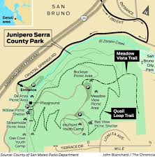 De Anza College Map Panoramas Close At Hand At Serra County Park Sfgate