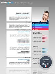 cv design gratuit a telecharger xuhui modèle de cv moderne