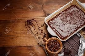 faire r馘uire en cuisine faire cuire au four gâteau au chocolat dans la cuisine rurale ou