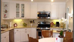 Spray Painting Kitchen Cabinets White Kitchen Gratifying Kitchen Cabinet Painting Cost Estimator