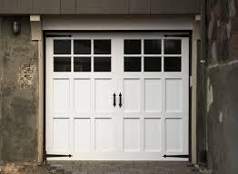 carriage style garage doors no windows