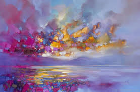 vibrant oil painting