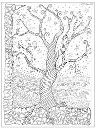 coloring pages for adults tree tree coloring pages for adults coloring page