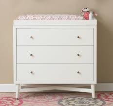 mid century changing table dwellstudio mid century french white changing top reviews