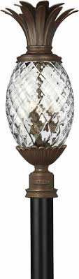 pineapple outdoor light fixtures hinkley plantation pineapple outdoor collection brand lighting
