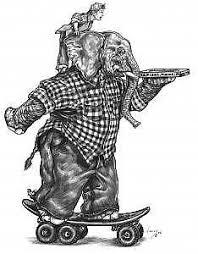 skateboard drawings page 2 of 2 fine art america