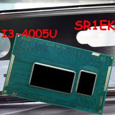 intel core i3 4005u 1 7g 3mb sr1ek bga1168 bga cpu 100 original