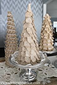 burlap christmas sparkly burlap christmas tree target inspired