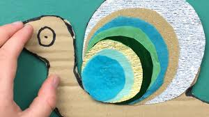 how to make a snail art and craft project for preschool pre k