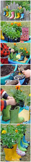 creative idea for gardening even gets the kids involved