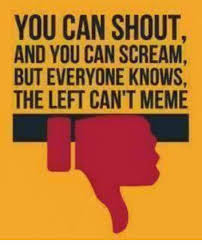 Scream And Shout Meme - you can shout and you can scream but everyone knows the left can t