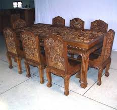 dining table set for sale carved dining tables sets jodhpur handicrafts used dining table