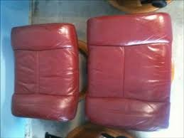 Leather Sofa Color Restoration by Leather Sofa Color Restoration By St Louis Leather Repair Video