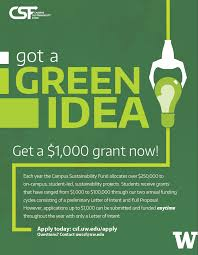 got a green idea get a 1 000 grant now campus sustainability