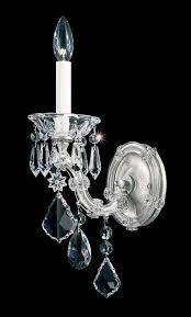 schonbek 5600 maria theresa collection sconce crystal traditional
