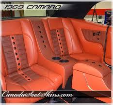 chevrolet camaro back seat 1969 camaro houndstooth edition sport seats