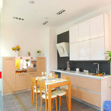 Melamine Kitchen Cabinets L Shape Melamine Kitchen Cabinet China Manufacturer Product