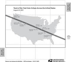 total eclipse of the sun forever stamp to be issued tomorrow