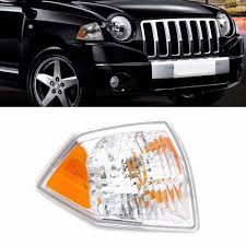 right side marker parking turn signal corner light for jeep