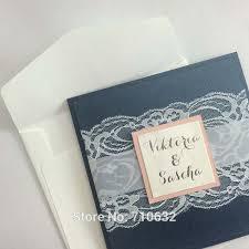 Pocket Wedding Invites 33 Pocket Wedding Invitations Blue Vizio Wedding
