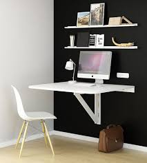 Wall Mount Table Amazon Com Large Wall Mount Drop Leaf Folding Table White Solid