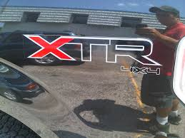 Ford Raptor Truck Decals - product 2 ford f150 xtr 4x4 ford off road truck vinyl decal stickers