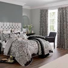 dorma black verona bed linen collection my new room pinterest