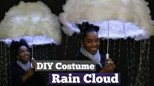 diy halloween costume rain cloud melissa denise youtube
