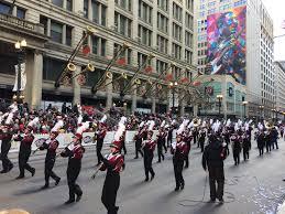 chicago thanksgiving day parade mount vernon bands