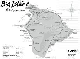 Map Of Big Island Hawaii Hawaii Map Da Kine