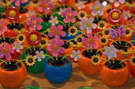 free images play plastic flower food produce color toy