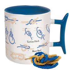 amazon com how to knots coffee mug learn how to tie eight