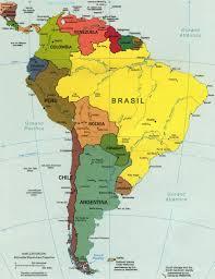 Colombian Map Mapa América Do Sul Mapas Pinterest Brazil Adventure Awaits
