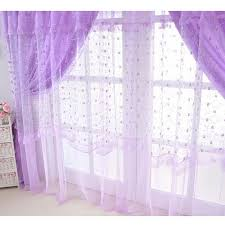 Curtain For Girls Room Purple Sheer Curtain For Girls Room Without Valance