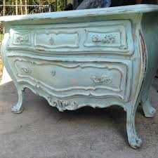 Light Turquoise Paint by Light Turquoise Distressed Bombay Chest French Painted Vintage