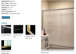 frameless shower doors what is truly
