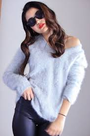 sexual sweaters moda fluffy 70 angora sweater dress m angora sweater and moda