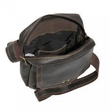 pocasset unisex shoulder bag distressed black cape cod leather