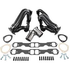 hedman 69560 s10 engine swap headers 1982 2000 s10 with sbc jegs
